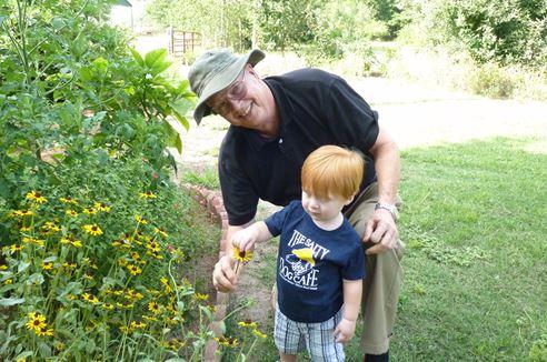 Jim Bennett weekend gardener